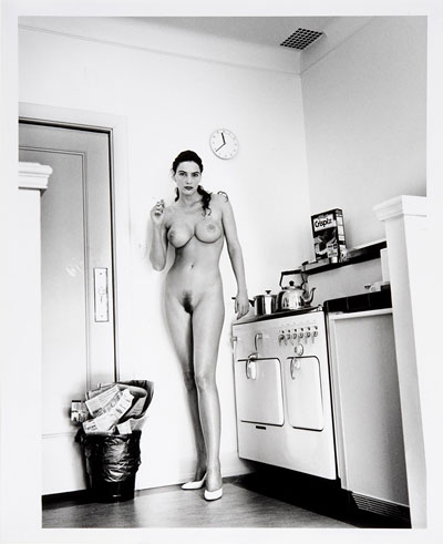 Foto Helmut Newton, Domestic Nude: Hollywood 1, 1993-1994