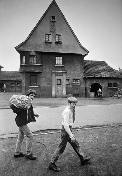 Foto Jürgen Hebestreit, Siedlung Brassert, Marl 1970