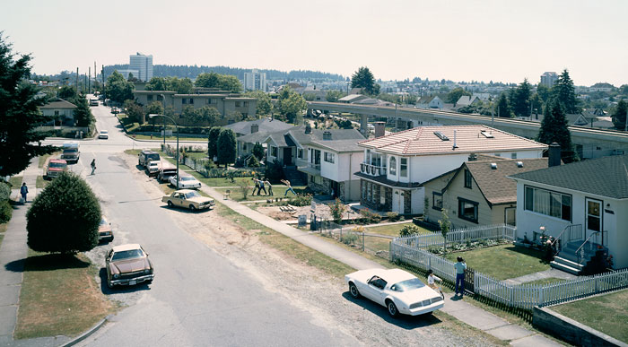 Foto Jeff Wall, An Eviction, 1988 /2004