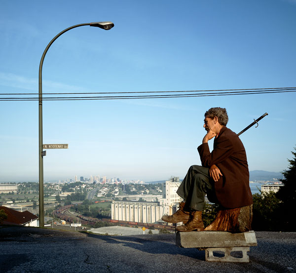 Foto Jeff Wall, The Thinker, 1986