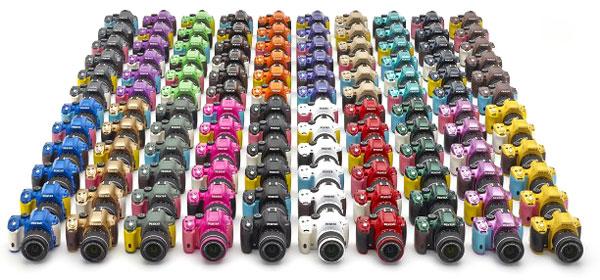 Foto Farbvarianten K-50