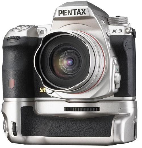 Foto Pentax K-3 in silberfarben