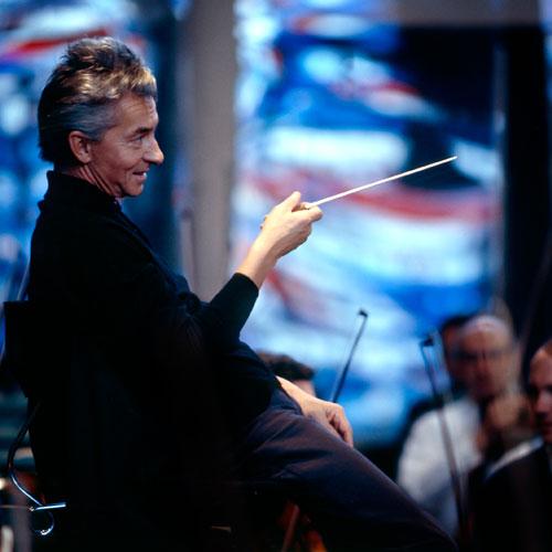Foto Siegfried Lauterwasser, Herbert von Karajan, 1963