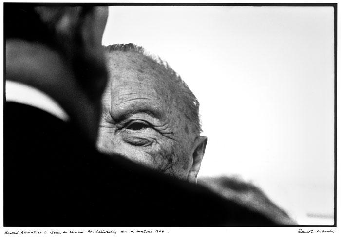 Foto Robert Lebeck, Konrad Adenauer, 4. Januar 1966