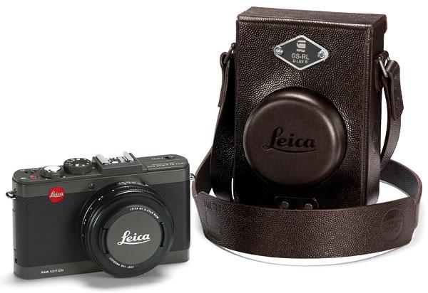 """Foto Leica D-Lux 6 """"Edition by G-Star RAW"""" und Tasche"""