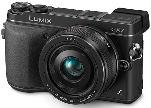 Foto der Lumix GX7