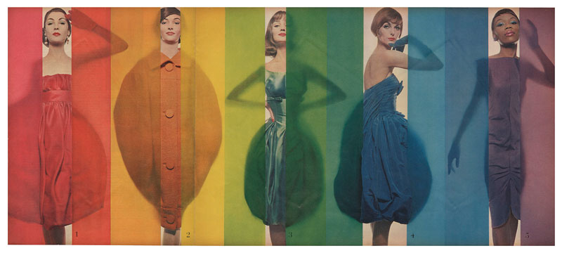 Foto Erwin Blumenfeld, Race for Colors, publiziert in Look, 15. Oktober 1958