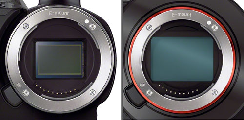 Sensorvergleich NEX-VG30 / NEX-VG900