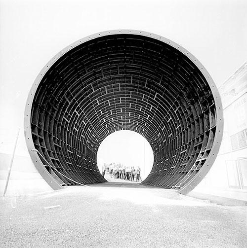 Foto Robert Häusser, Röhre, U-Bahnbau