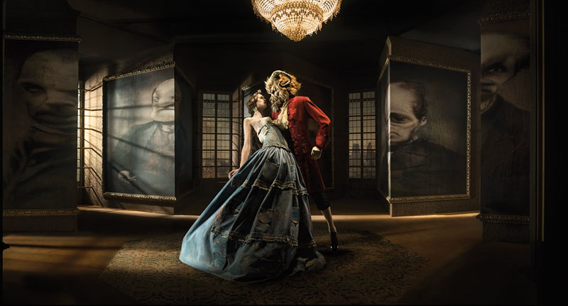 Foto © Eugenio Recuenco, The Beauty And the Beast, 2008