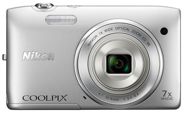 Foto der Coolpix S3500 von Nikon