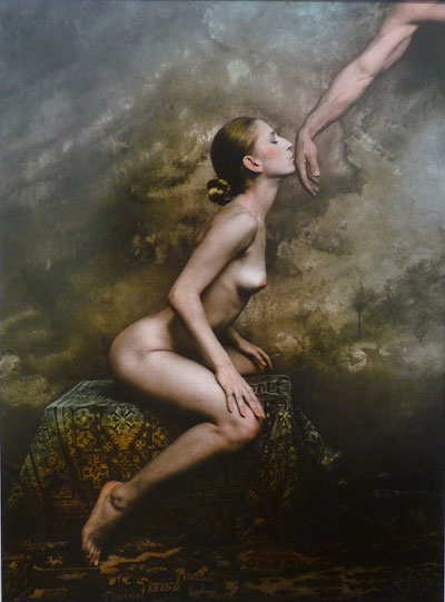 Foto Jan Saudek, Deep Devotion, 2001