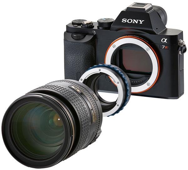 Foto Novoflex-Objektiv-Adapter NEX/NIK