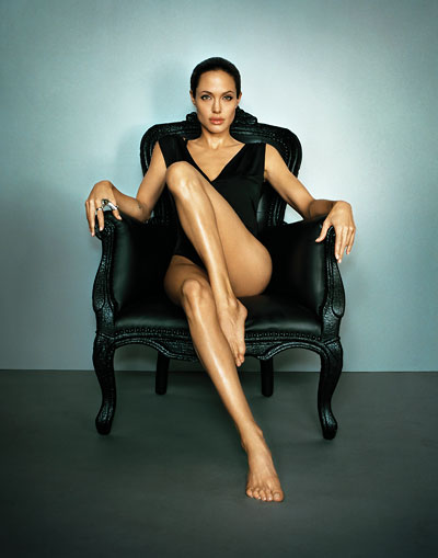 Foto Marc Hom, Angelina Jolie, Los Angeles, 2007