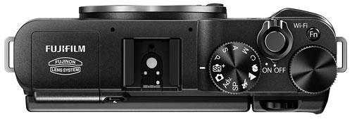 Foto der Oberseite der Fujifilm X-A1