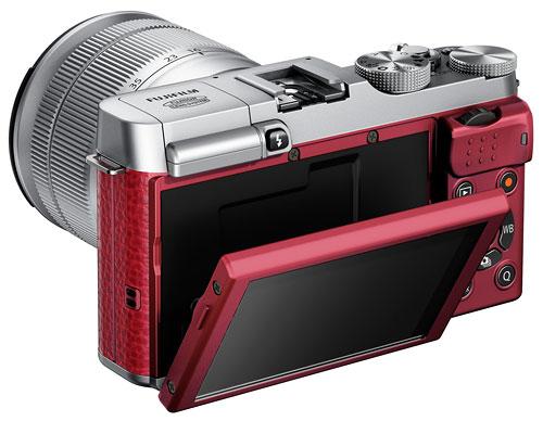 Rote Fujifilm X-A1