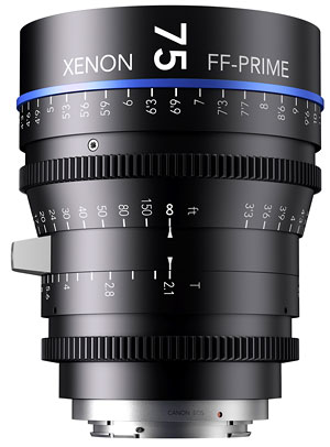 Foto Xenon Full-Frame Prime 2.1/75