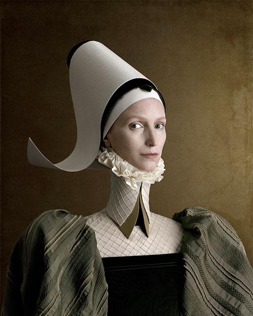 Foto Christian Tagliavini, Ritratto di signora in verde