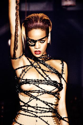 Foto Ellen von Unwerth, Rihanna, 2009