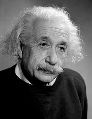 Foto Fred Stein, Albert Einstein (1879-1955), Princeton 1946