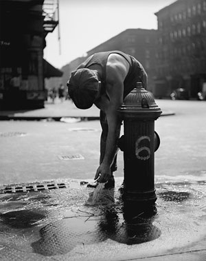Foto Fred Stein, Hydrant, New York 1947