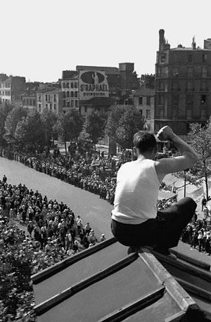 Foto Fred Stein, Volksfront, Paris 1936
