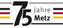 Logo 75 Jahre Metz