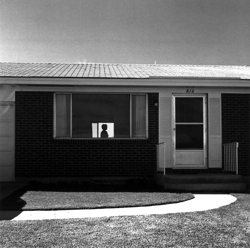 Foto Robert Adams, Colorado Springs, Colorado, The New West, 1968-1971