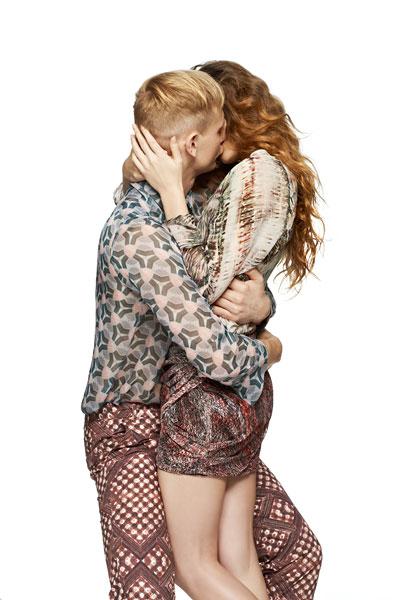 Foto Frank Blaser, Kissing