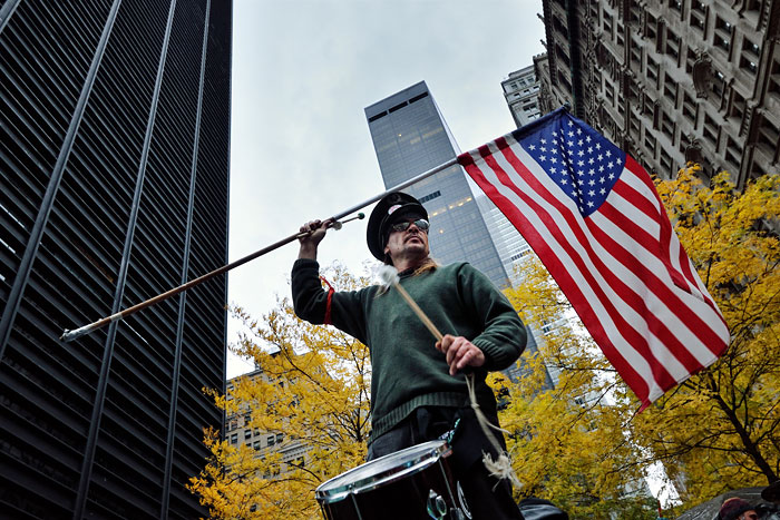 Foto Christian Bopst, The End of Occupy Wall Street