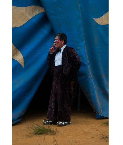Foto Enrique Muñoz García, Zirkus