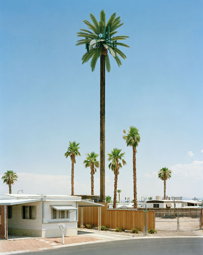 Foto Robert Voit, Mobile Home Park, Las Vegas, Nevada, USA, 2006