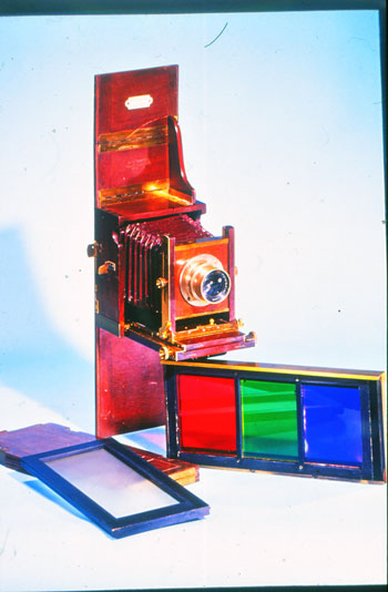 Dreifarben-Wechselschlittenkamera