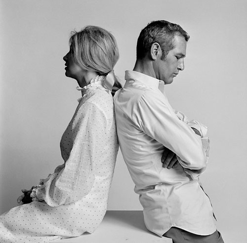 Lawrence Schiller, Joanna Woodward and Paul Newman Los Angeles, 1967