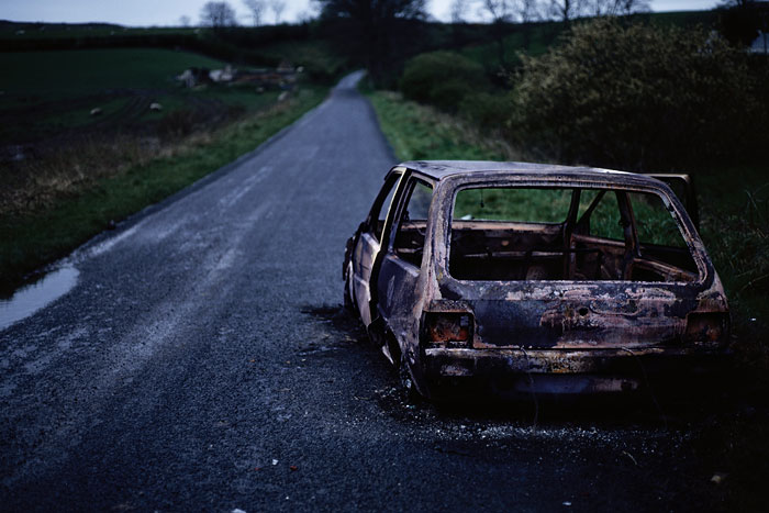 Foto Willie Doherty, Incident, 1993