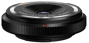Foto Body cap lens 8/9 mm