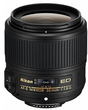Foto AF-S Nikkor 1,8/35 mm G ED