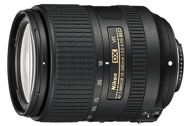 Foto AF-S DX Nikkor 3,5-6,3/18-300 mm G ED VR