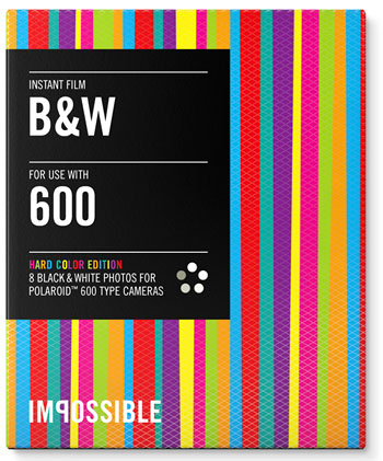 Packung B&W 600 'HARD COLOR'