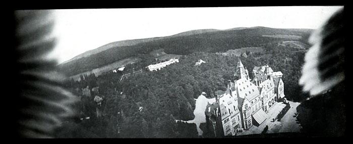 Foto Schloss Friedrichshof bei Kronberg im Taunus