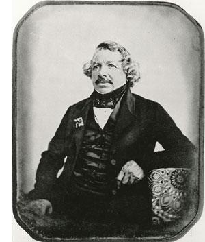 Foto Louis Jacques Mandé Daguerre
