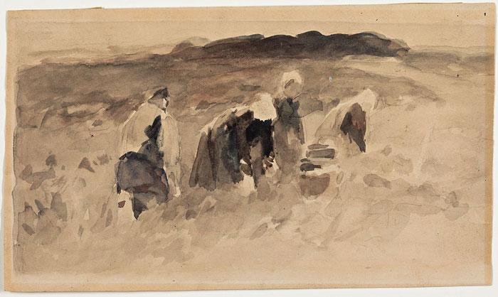 Thomas Herbst, Kartoffelbuddler, um 1890
