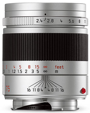 Foto Summarit-M 1:2,4/75 mm