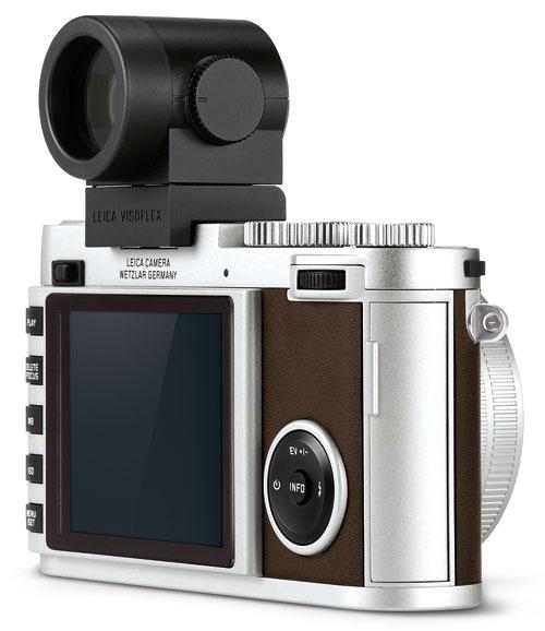 Foto Leica X (Typ 113) mit Visoflex