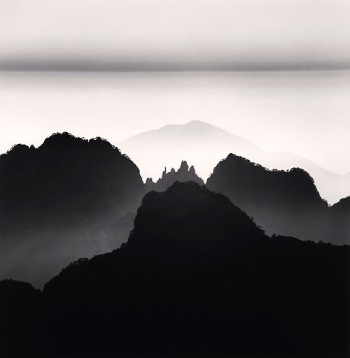 Foto Michael Kenna, Huangshan Mountains, Study 2, Anhui, China, 2008