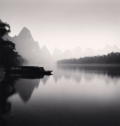 Foto Michael Kenna, Lijiang River, Study 4, Guilin, China, 2006