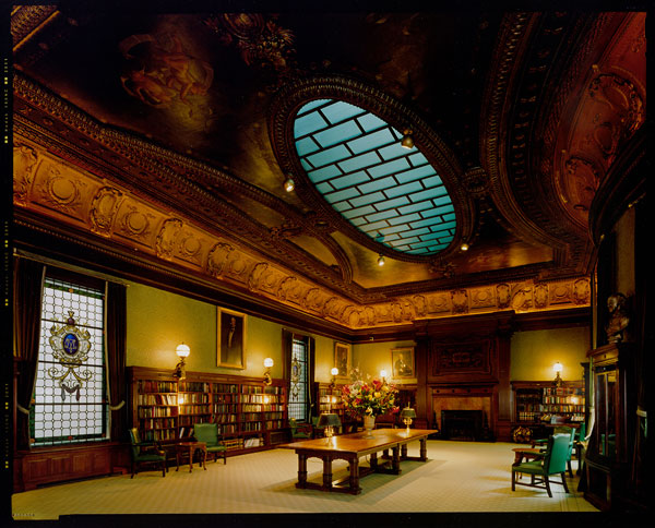 Foto Jim Dow, Dining Room, Morgan Library, New York, 1999/2010