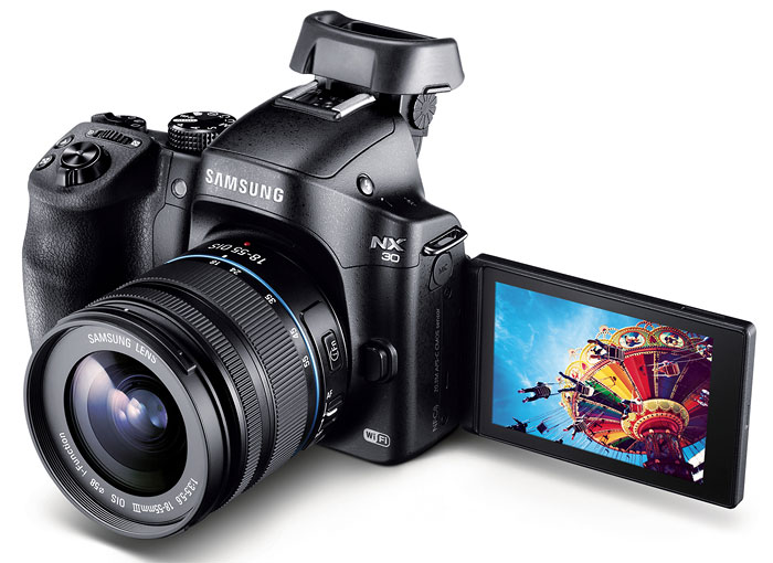 Foto Samsung NX30