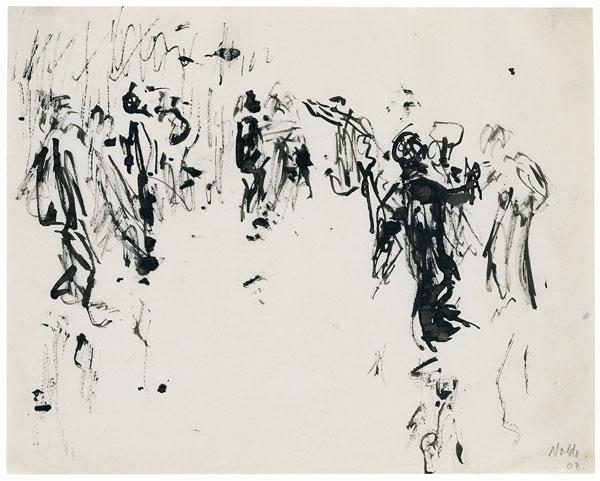 Emil Nolde, Tanz, 1908