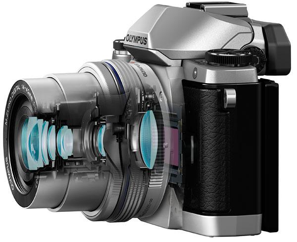 Schnitt E-M10 mit M.Zuiko Digital ED 3,5-5,6 /14-42 mm EZ